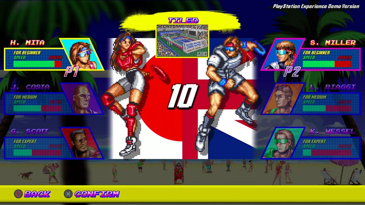 We Play Windjammers with DotEmu