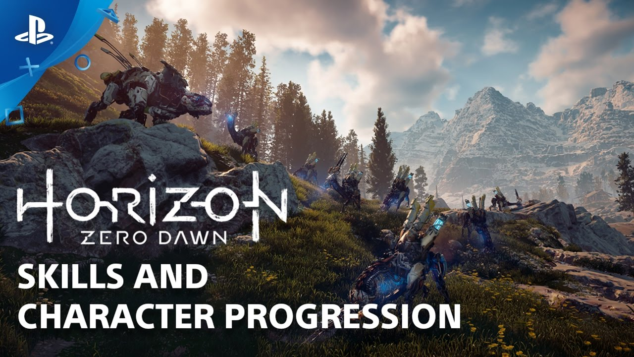Horizon Zero Dawn: Skills and Abilities – Countdown to Launch at PS Store | PS4