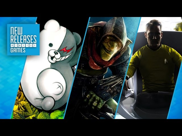 Danganronpa 1.2 Reload, Styx: Shards of Darkness, Star Trek: Bridge Crew – New Releases