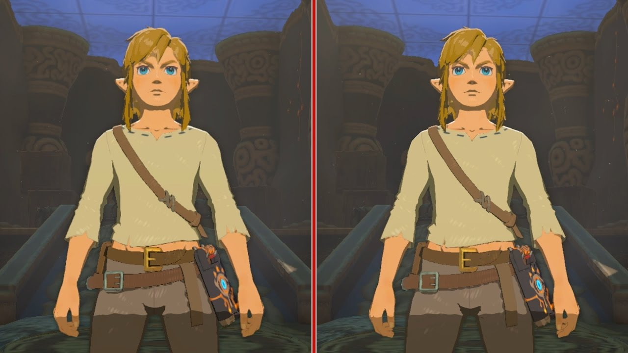 Zelda: Breath of the Wild Final Graphics Comparison – Wii U vs. Nintendo Switch