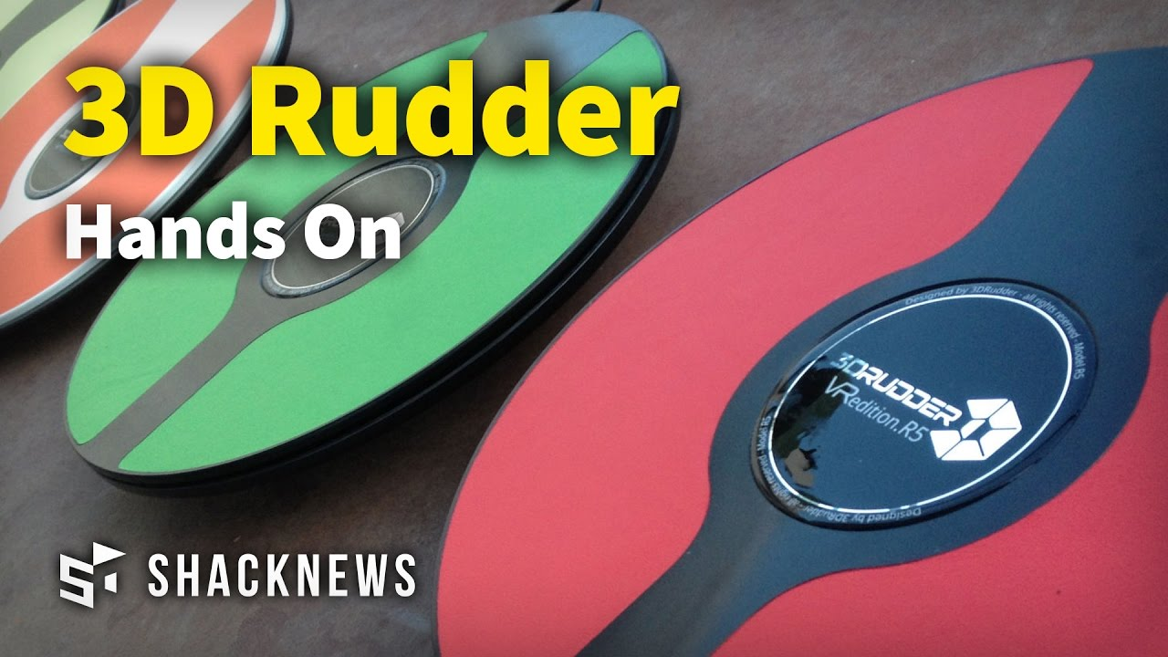 3D Rudder Hands On Interview