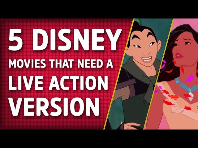 5 Disney Movies That Should Get A Live Action Version