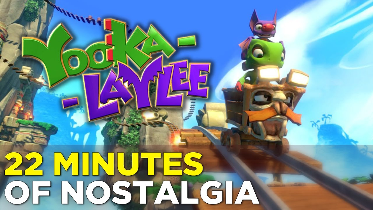 Yooka-Laylee: 22 MINUTES OF GAMEPLAY from the Nostalgic Platformer @ GDC 2017