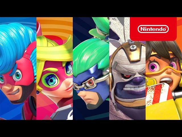 Arms – Character Introduction Trailer