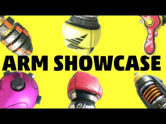 Arms – Weapon Showcase Trailer