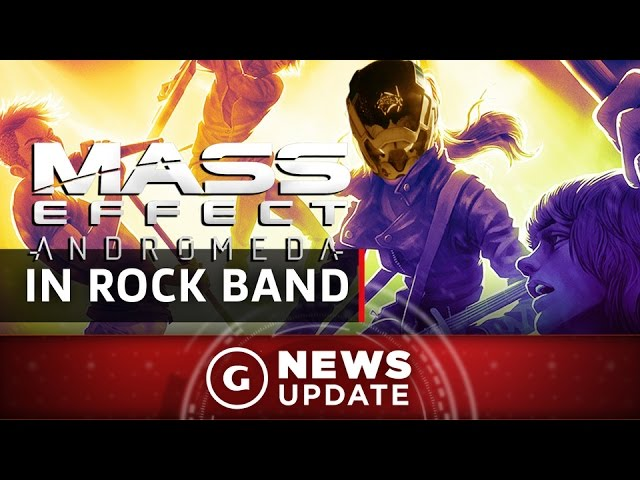 Mass Effect: Andromeda Invades Rock Band 4 With New Items – GS News Update