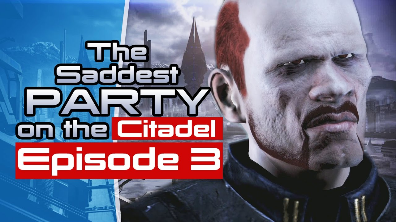 Being A Jerk To Kaidan – The Saddest Party On The Citadel Episode 3