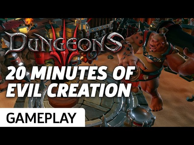 Crafting Evil in Dungeons 3