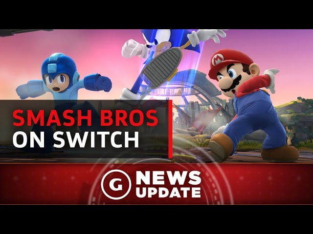 Expect A Super Smash Bros. Game For Nintendo Switch – GS News Update