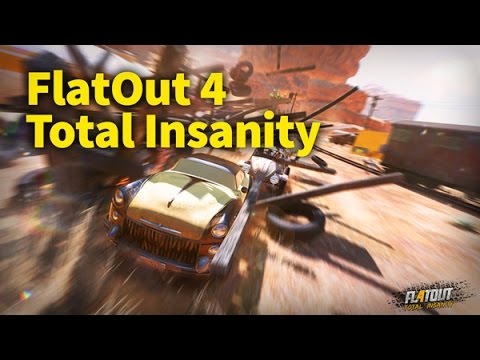 FlatOut 4: Total Insanity Developer Interview