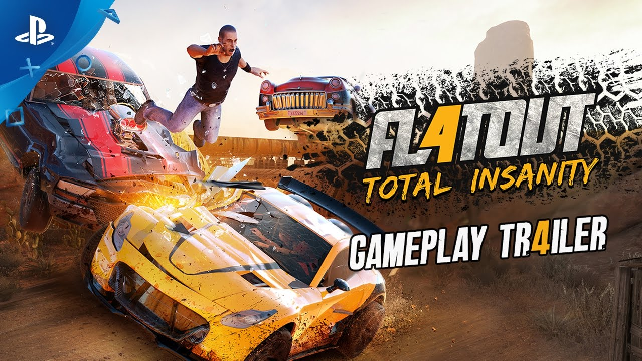 FlatOut 4: Total Insanity – Gameplay Trailer | PS4