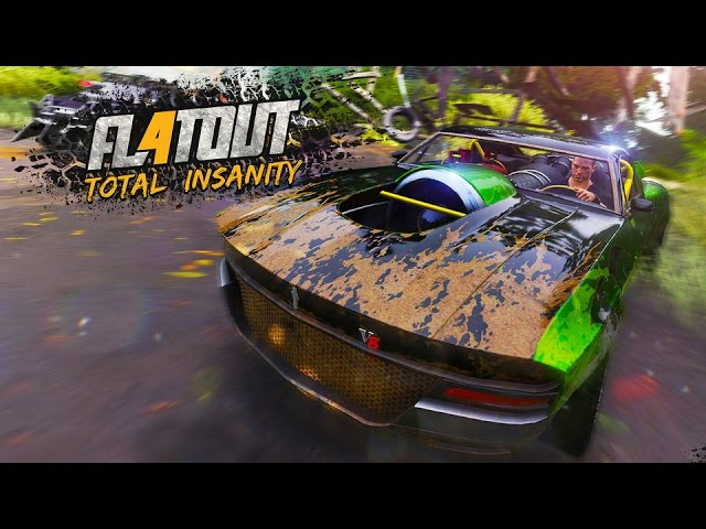 FlatOut 4: Total Insanity – Launch Trailer