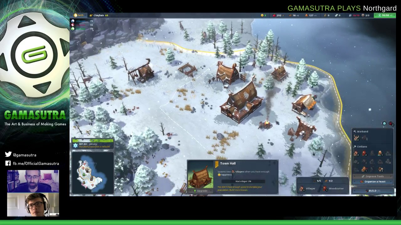 Gamasutra Plays Northgard with developer Sebastien Vidal