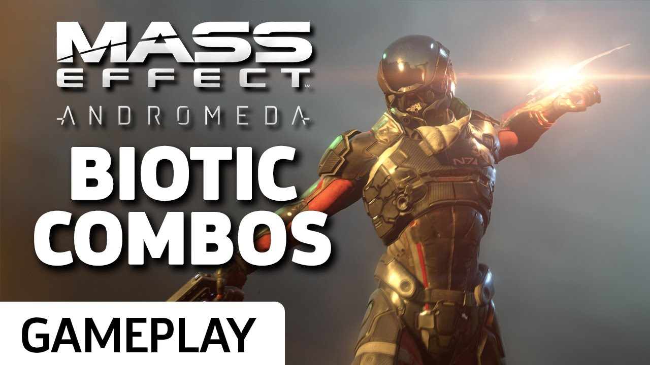 Here's What Biotic Combos Look Like in Mass Effect: Andromeda