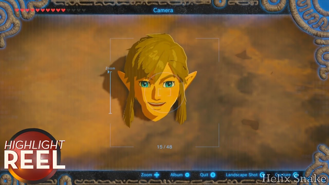 Highlight Reel #285 – Link Takes Carefree Selfie While Stuck In A Rock