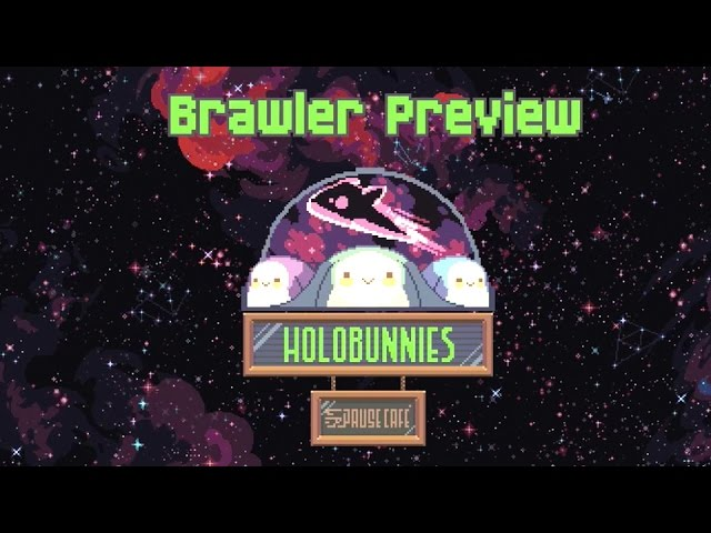 Holobunnies: Pause Café – Official Brawler Preview
