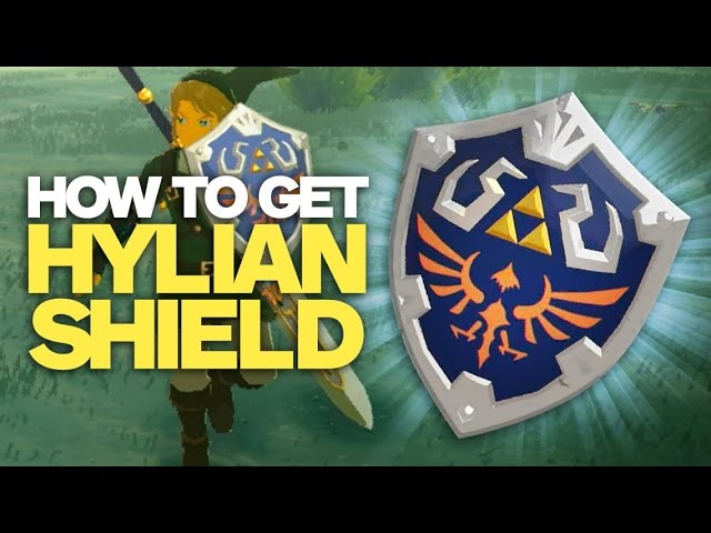 How to Get Link's Hylian Shield – Zelda: Breath of the Wild