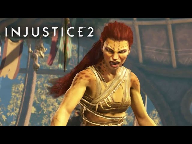 Injustice 2 – Introducing Cheetah Trailer