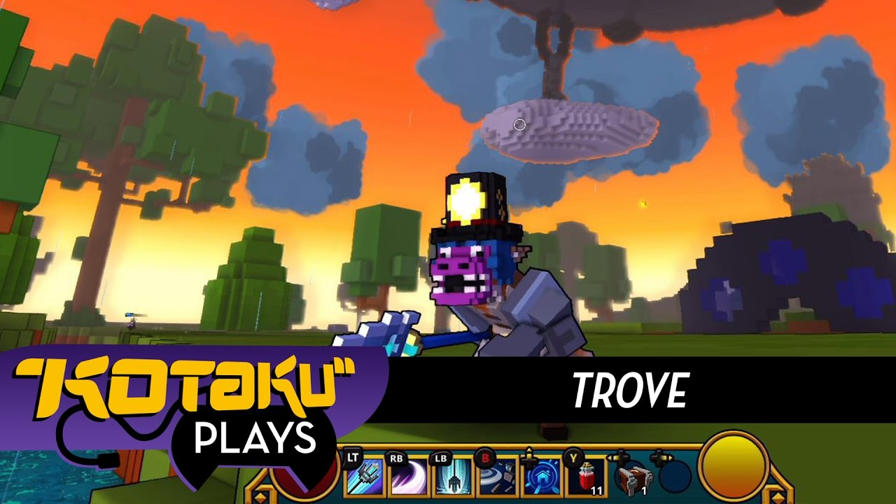 Kotaku Plays Trove On Xbox One
