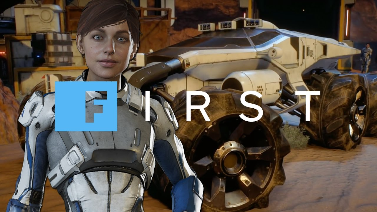 Mass Effect Andromeda: Driving and Upgrading The Nomad – IGN First