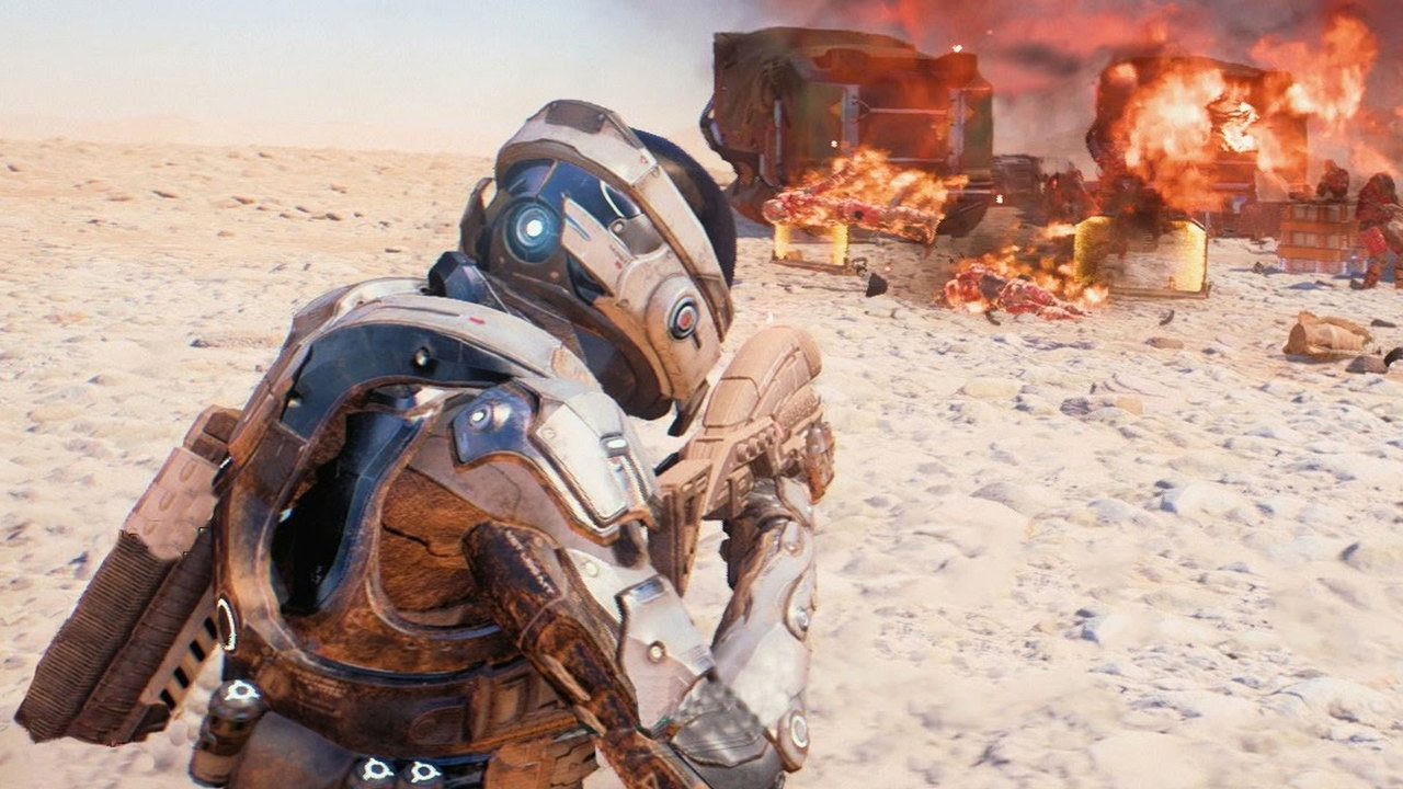 Mass Effect Andromeda: Fighting The Kett on Eos