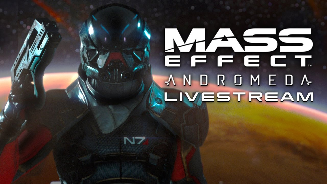 Mass Effect: Andromeda Livestream (Exploring Worlds)