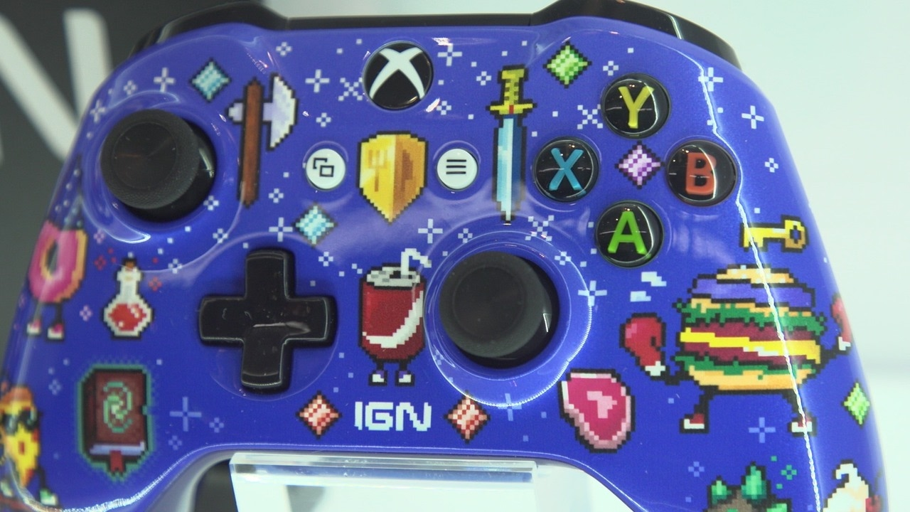 Microsoft's Custom Xbox Controller Lineup Features a Special IGN Model