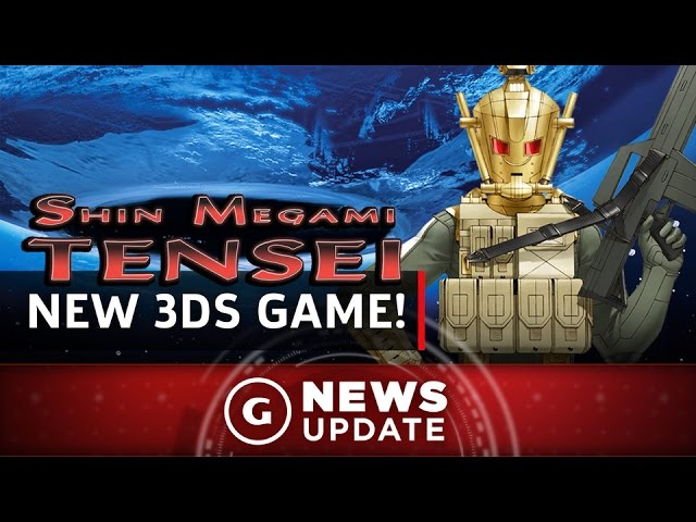 New Shin Megami Tensei Game Revealed For 3DS – GS News Update