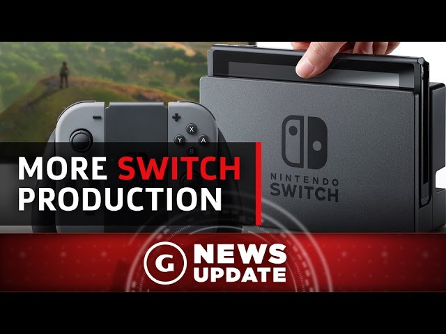 Nintendo Switch Production Reportedly Doubled – GS News Update