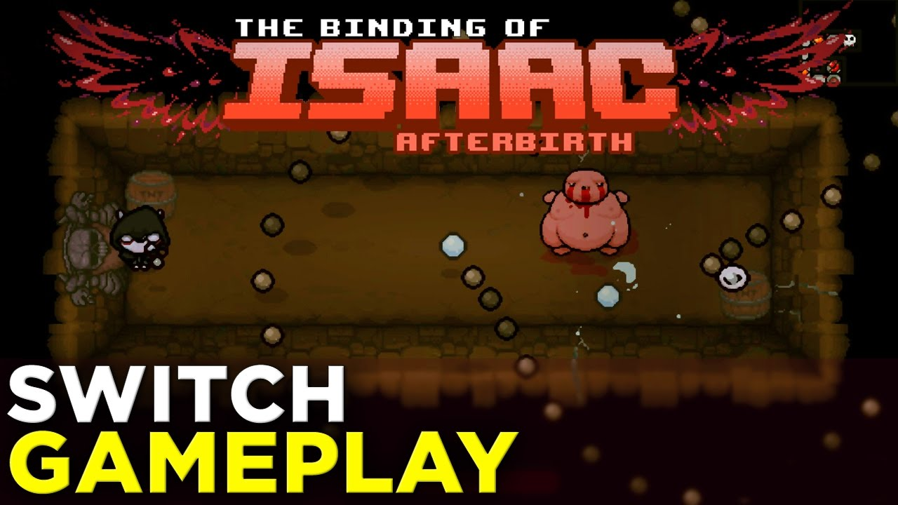 The Binding of Isaac Afterbirth+ on NINTENDO SWITCH! 24 Minutes of Gameplay @ GDC 2017