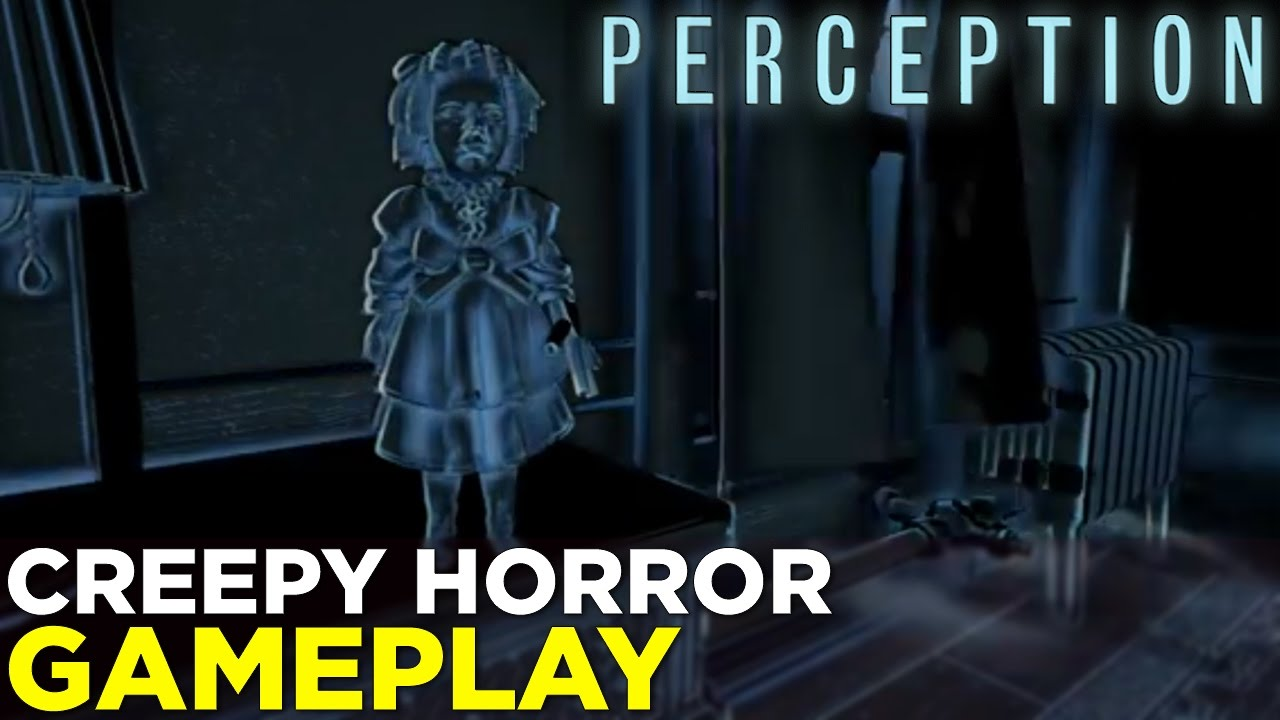 PERCEPTION – See Through SOUND In This Indie Horror Game