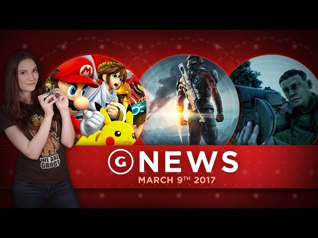 Smash Bros. For Switch; Mass Effect: Andromeda Trophies Leaked! – GS Daily News