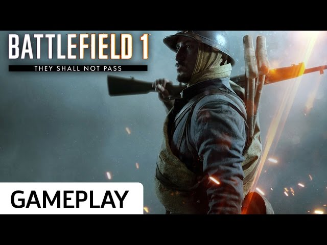 Soissons Map Gameplay – Battlefield 1: They Shall Not Pass