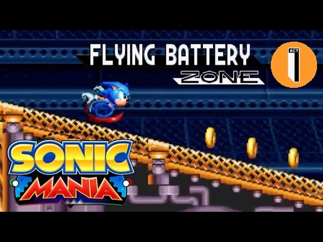 Sonic Mania – Flying Battery Zone Reveal Trailer