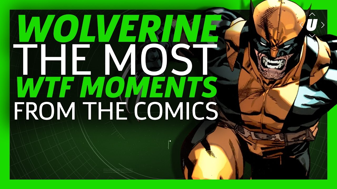 The 8 Most WTF Moments from Wolverine Comics!