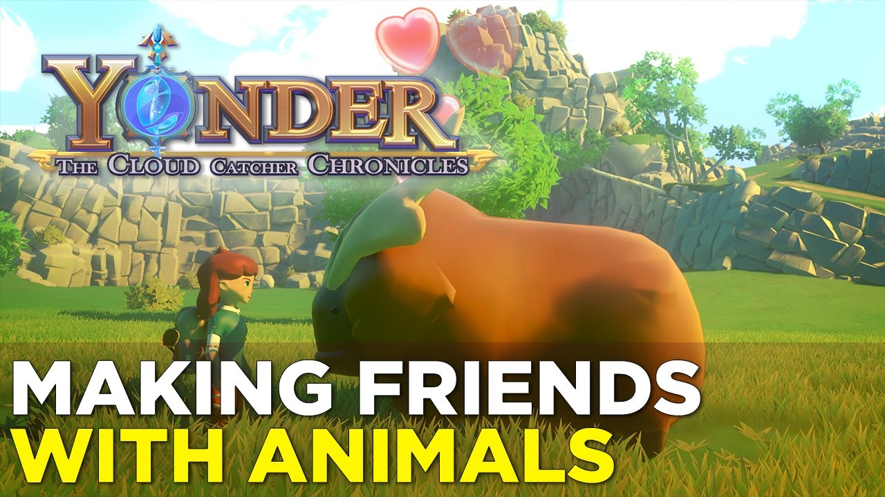Yonder: The Cloud Catcher Chronicles — 23 Minutes of CRITTER COLLECTING @ GDC 2017