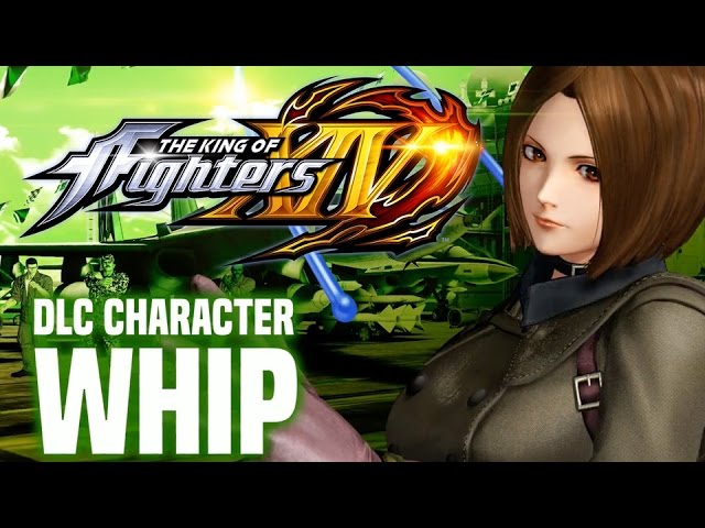 The King of Fighters XIV – Whip DLC Character