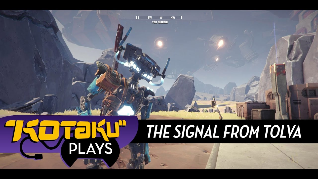 The Signal From Tolva Is Basically Far Cry With Robots