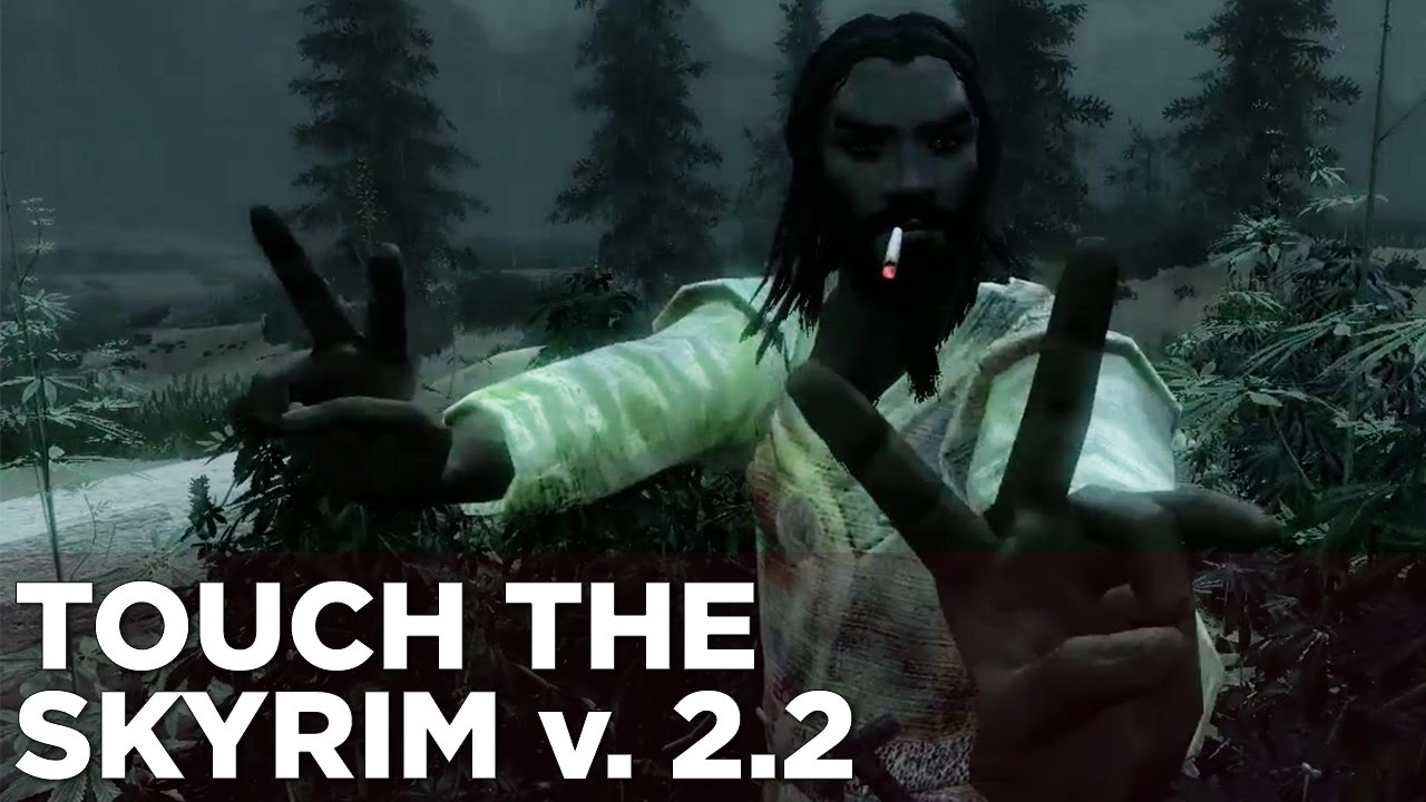 Touch the Skyrim Ep. 7: Nick and Griffin PARTY HARD WITH MEWTWO