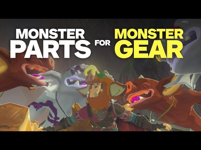 Trade Monster Parts for Awesome Gear – Zelda: Breath of the Wild