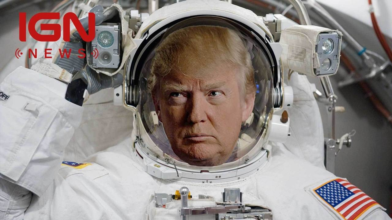 Trump Signs NASA Bill Aimed at Sending Humans to Mars – IGN News
