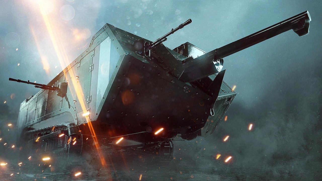 Battlefield 1: They Shall Not Pass – 5 Minutes of New Assault Tank Gameplay
