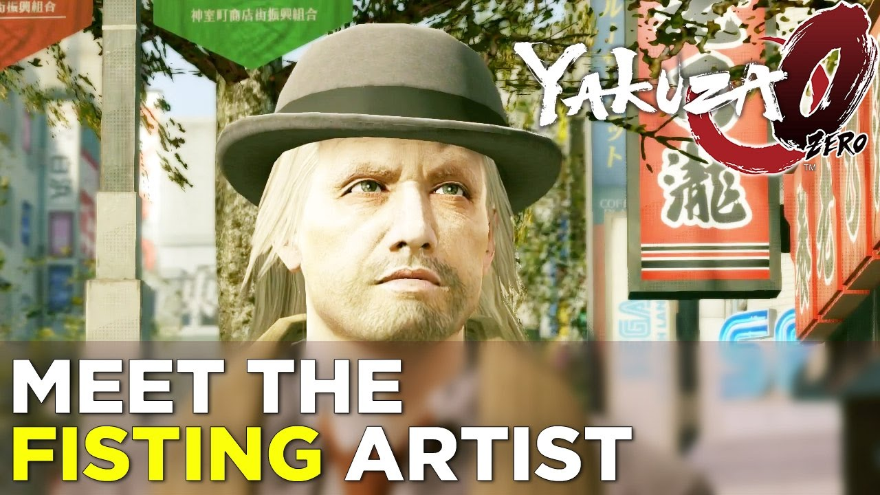 Yakuza 0 to 60, Episode 3 – Allegra and Phil Meet the Fisting Artist