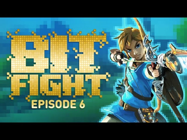 Zelda Breath of the Wild: Race to Hyrule Castle Challenge – BIT FIGHT #6