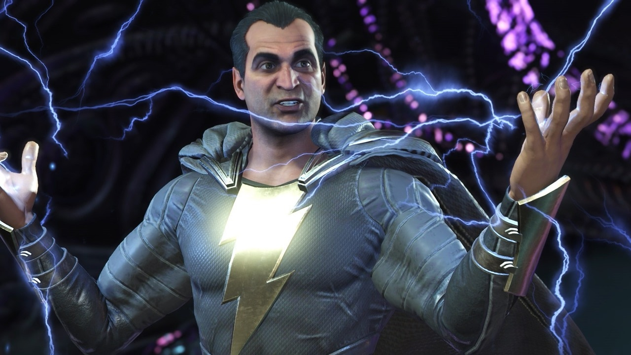 Injustice 2: Black Adam vs. Batman Gameplay in 1080p 60fps
