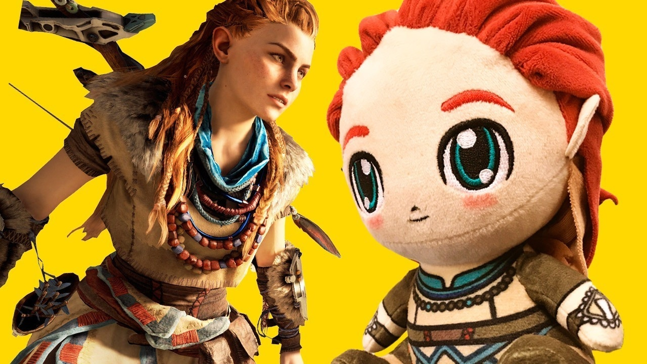 This Horizon: Zero Dawn Plushie is the World's Cutest Aloy – Up At Noon Live!
