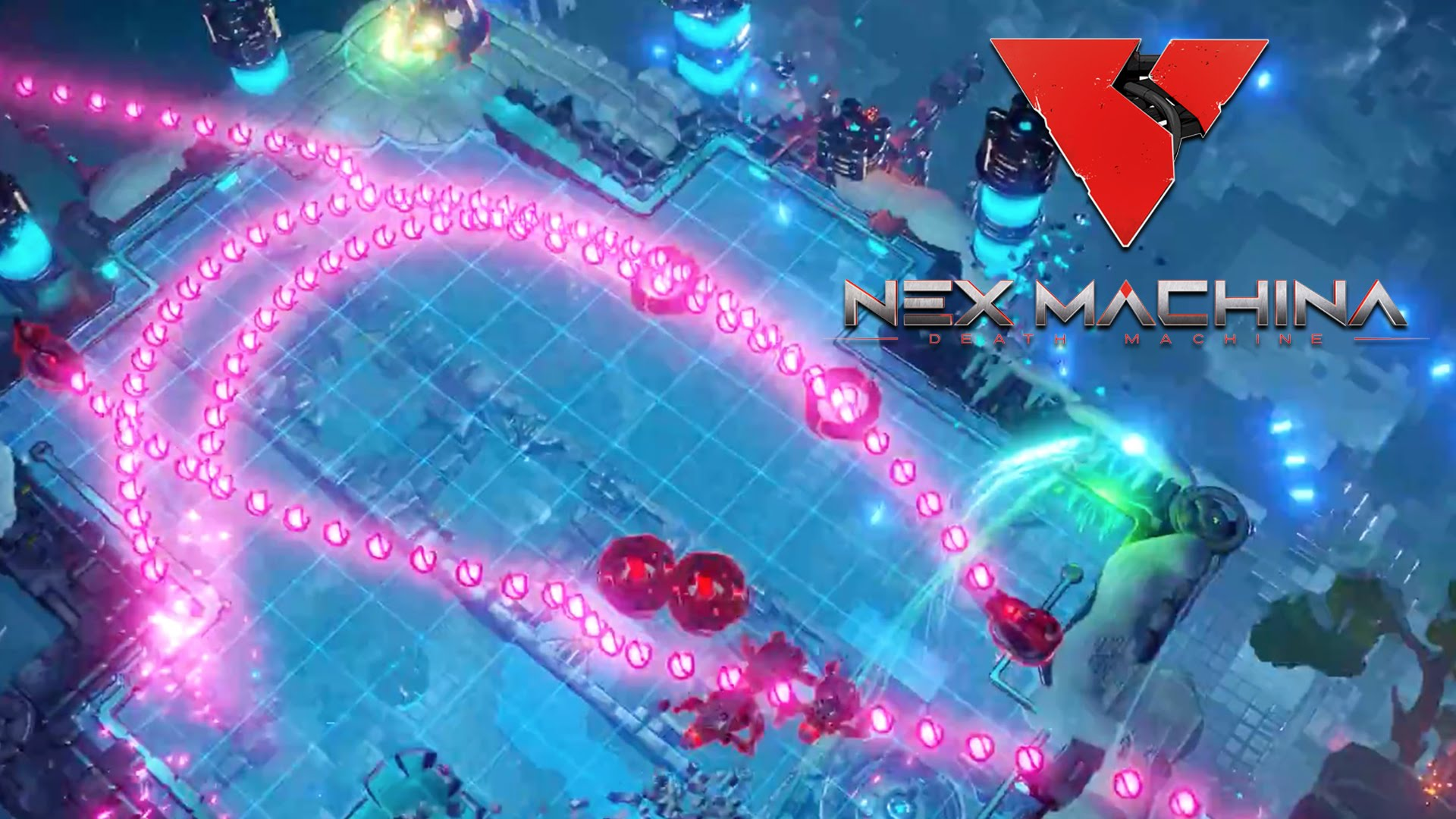 Nex Machina – Co-Op Trailer