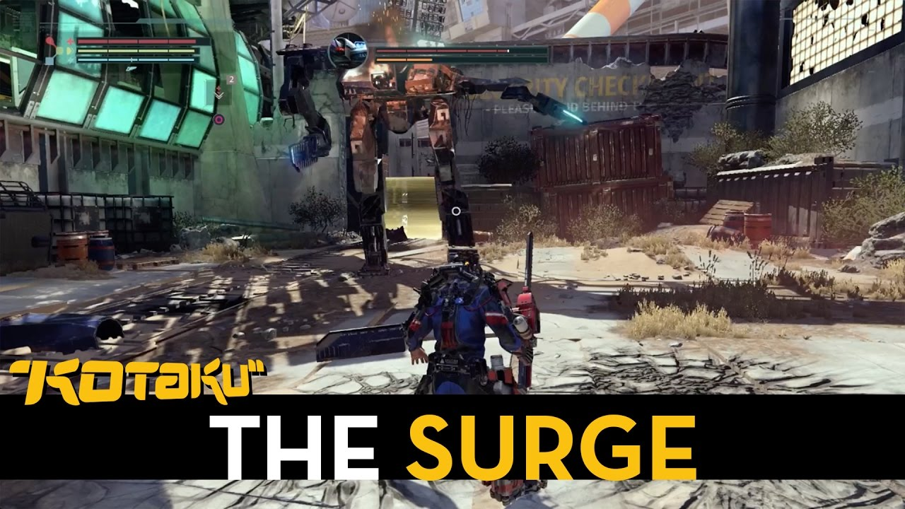 We Fought The First Boss In The Surge