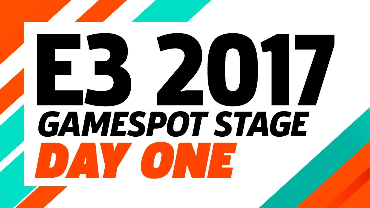 E3 2017: GameSpot Stage Show Day One