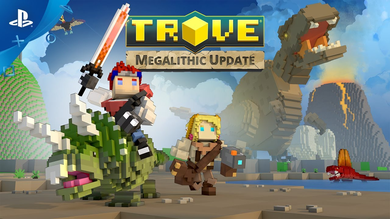 Trove – Megalithic Update Launch Trailer | PS4
